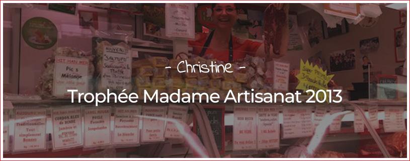 Madame Artisanat d'Alsace 2013, Christine Spiesser