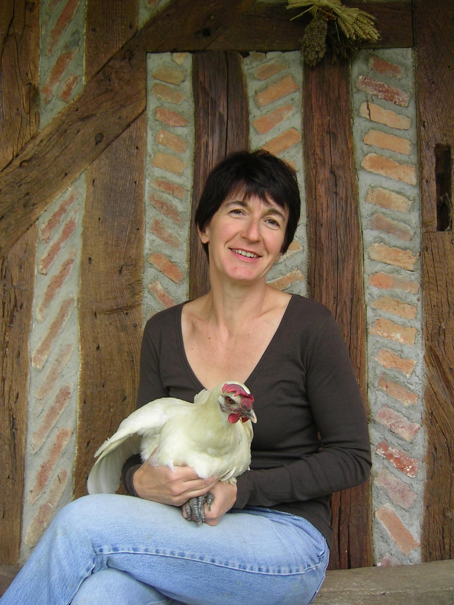 Elevage de poulets de bresse de la ferme Roussel-Voisard