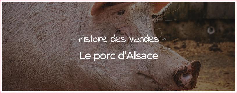 Le porc d'Alsace