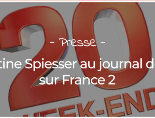 Christine Spiesser au journal de 20h sur France 2