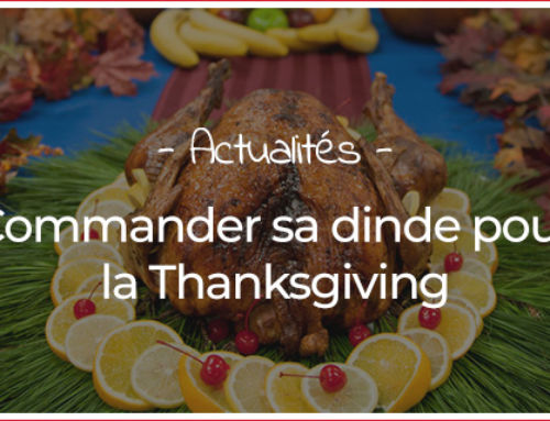 Commander sa dinde pour la Thanksgiving
