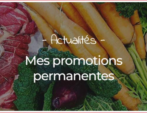 Les promotions permanentes de votre artisan-boucher