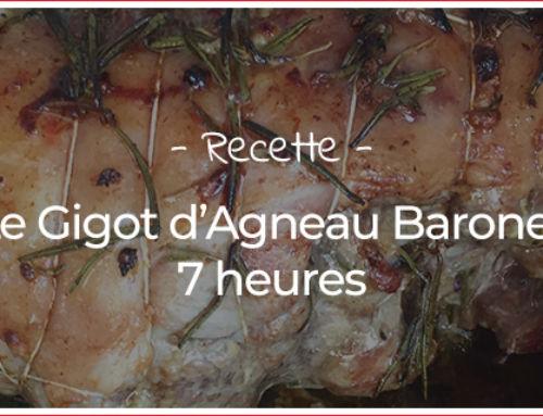 Recette du gigot d'agneau Baronet, 7 heures